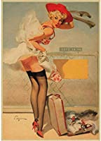 ZZFJF ゲーミ 番号キットによる5Dダイヤモンド絵画、フルドリル刺繡クロスステッチアートクラフト絵画美しい少女ヴィンテージクラシック映画の装飾レトロアート