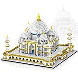 BAIDEFENG 3843 Piezas Microbloques Monumentos Famosos De Taj Mahal Modelo Mini Conjunto De Bloques De Construcción 3D Rompecabezas Ladrillos Juguetes Regalos para Niños