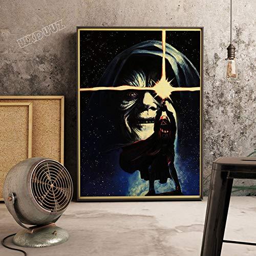 zxddzl Samurai Und Soldat Retro Poster Classic Movie Malerei Einzigartige Leinwand Malerei 30 cm X 42 cm A3 Kein Rahmen 13