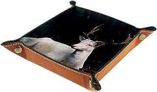 Desheze Cerf Boîte de Rangement Pliable Stockage Boîte Maquillage Bijoux Jouets Papeterie Organisateur Petite Taille pour ...