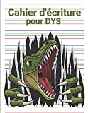 Cahier d'écriture pour DYS: Cahier avec lignes de couleurs et interligne 3 mm pour les enfants DYS ou ayant des difficultés d'apprentissage (French Edition)