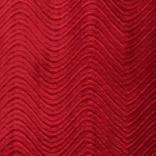 C842 Burgundy Classic Velvet Swirl Automotive Residential and Commercial Upholstery Velvet by The Yard