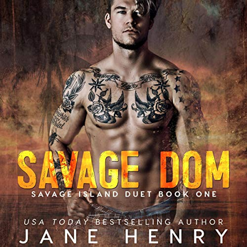 Savage Dom audiobook cover art