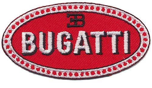 Bugatti Aufnäher Patches Aufbügler Automobile Sportwagen Chiron Veyron