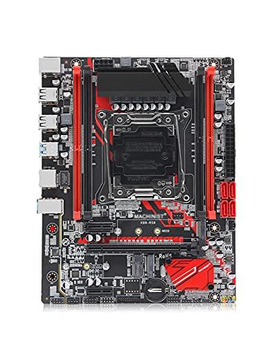 GIAO X99 Fit für LGA 2011-3 Motherboard SATA M.2 PCI-E M.2 Slot Support Xeon E5 V3 V4 Prozessor DDR4 ECC RAM X99-RS9 Mainboard