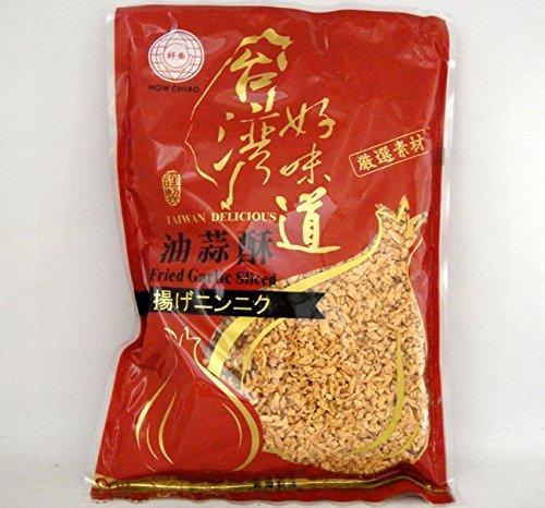 人気 油蒜酥 フライドガーリック 中華食材調味料 2パックセット (500g x 2) 1kg 台湾産 (2パックセット)