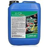 GartenteichDirekt Fadenalgen-Stopp FLÜSSIG für den Gartenteich (GRATIS Lieferung in DE - Schnelle Wirkung, entfernt zuverlässig Fadenalgen, Algen, Vernichter und Fadenalgenentferner), Größe:5 L