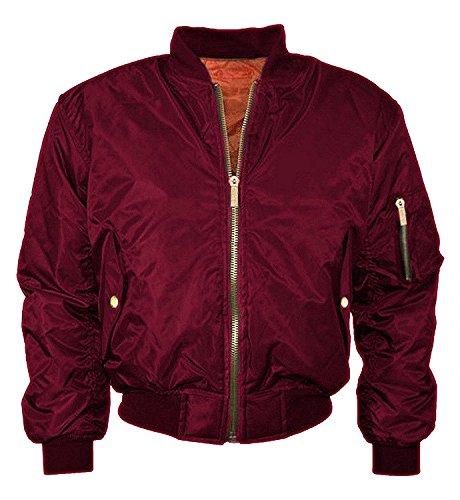 Juicy Trendz Womens Bomber Jacket Ladies HARRINGTON Jacket Biker Bomber Coat