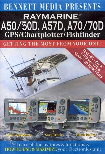 Raymarine A50/A50d, A57d, A70/A70d Gps/Chartplotter/Fishfinder