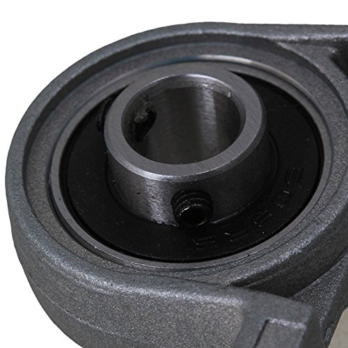 Industrial Combination,Ideaker 500mm Horizontal Optical Axis & 8mm Lead Screw Dual Rail Shaft Support Pillow Block Bearings & Flexible Shaft Coupling Set of 15