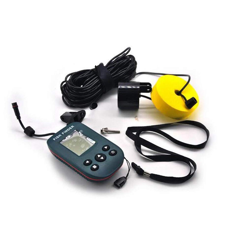 ボートカヤックアイスシーフィッシングのためのLCDディスプレイとソナーセンサー付きの魚群探知機、ポータブル魚深度ファインダー。