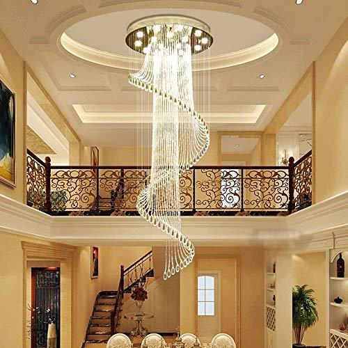Kroonluchter hanglamp Beadsthe trappen duplex kerstverlichting lichtbronnen plafondlamp