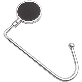 テーブルフック携帯型 新型 ファッション 円形のハンドバッグフック は独特の収納棚を飾っています
