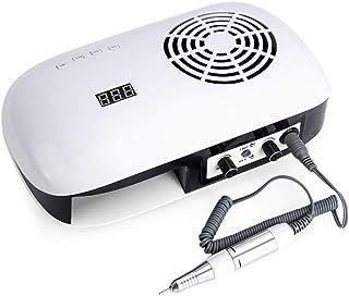 Herramientas de manicura Máquina de manicura multifuncional Lámpara UV para secador de uñas Aspiradora de uñas con filtro 35000 rpm Taladro de uñas Equipo de arte de uñas