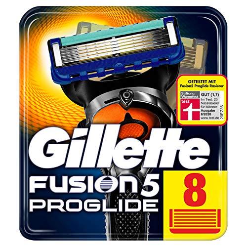 Gillette Fusion5 ProGlide Rasierklingen für Männer, 8 Stück, briefkastenfähige Verpackung