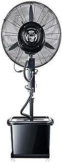 GPWDSN Ascensor Ventilador De Piso Atomización, Ventilador del Aerosol De Agua Automática Comercial Humidificación Aire Libre De Hielo Fija/Dos (Tamaño: Fijo 650 Mm)