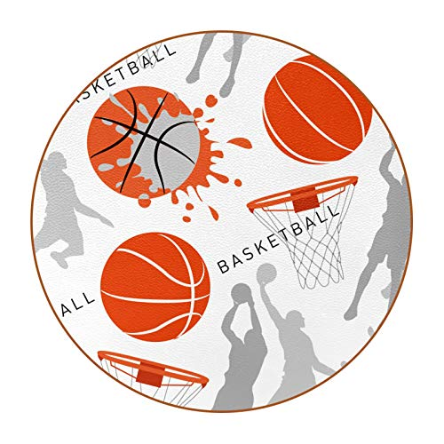6 posavasos de taza con imagen y texto personalizables para inauguración de la casa, regalos de anfitriona, registro de boda, decoración de habitación, pelota de baloncesto deportiva