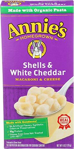 Annie#039s Homegrown Macaroni amp Cheese  Shells amp White Cheddar  6 oz