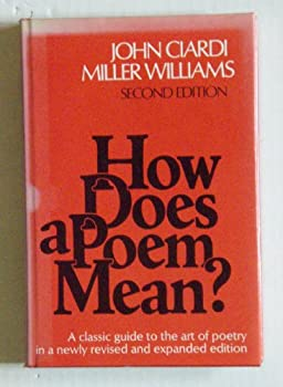How Does a Poem Mean? 0395204402 Book Cover
