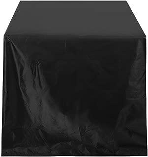 TOPINCN Möbelbezug Garten Balkon Wasserdicht Rostfrei Reißfest 210D Oxford Tuch für Tisch Stuhl Rattan Möbel Partys Hochzeiten(325 x 208 x 58cm)