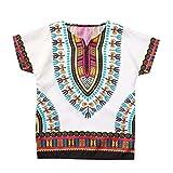 YWLINK NiñO NiñA T Shirt Manga Corta Tops De Camiseta De Estilo éTnico De Estilo Africano Masculino ...