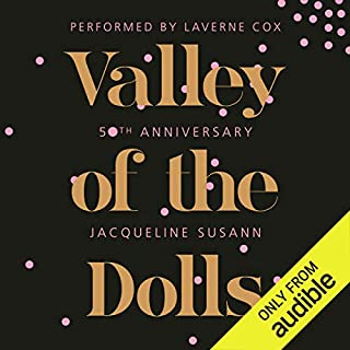 Valley of the Dolls 50th Anniversary Edition audiobook cover art