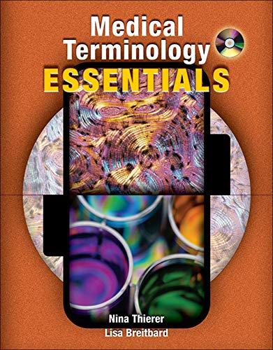 Medical Terminology Essentials: w/Student & Audio CD's...