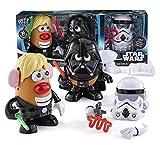 Hasbro Disney Star Wars Mr Potato Head 30 Piece Set Luke Frywalker Darth Tater & Spudtrooper Costume by