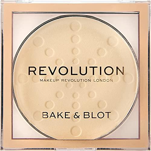 Makeup Revolution Bake And Blot Pressed Powder ~ Banana Light