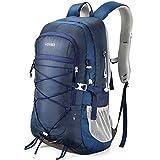 HOMIEE Zaino da Trekking 45 Litri, Resistente all'Acqua, Zaino da Escursione per Trekking Alpinismo, Multifunzione Zaino da Campeggio per Sport Viaggio,Donna e Uomo,Blu