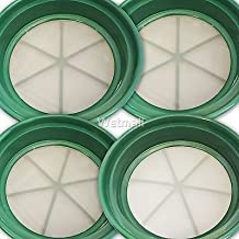 River Toyz 4pc Classifier SIFTING Pans 4 Your Gold PANNING 1/30