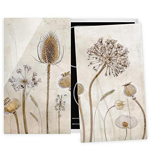 Bilderwelten Juego Cubre vitros de Cocina Universal - Growing Old - 52 x 60 cm