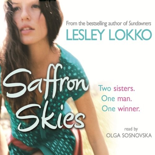 Saffron Skies audiobook cover art