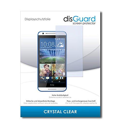 disGuard Bildschirmschutzfolie für HTC Desire 620G Dual SIM [2 Stück] Crystal Clear, Kristall-klar, Unsichtbar, Extrem Kratzfest - Bildschirmschutz, Schutzfolie, Glasfolie, Panzerfolie