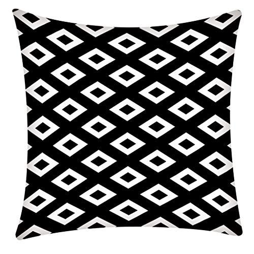 OPAKY Druck Kissenbezug Polyester Sofa Auto Kissenbezug Home Decor 45 X 45 cm