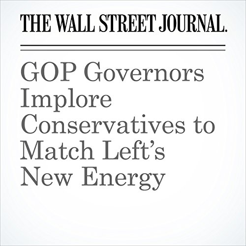 GOP Governors Implore Conservatives to Match Left's New Energy copertina