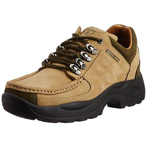 Woodland Men's Khaki Nubuck Leather Boots - 10 UK/India (44 EU)