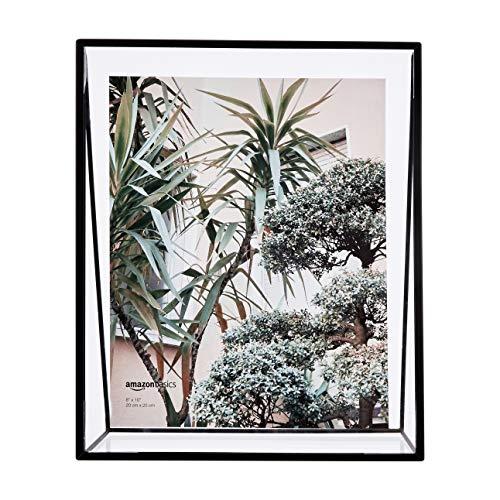 Amazon Basics Schwebender Keil-Bilderrahmen, 20 x 25,4 cm, Schwarz