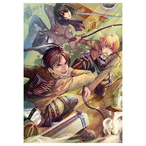 poster L'Attaque des Titans Affiche 15 x 23 pouces (38 cm x 58 cm) (380 mm x 580 mm)