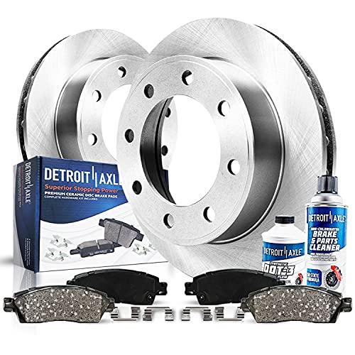 Detroit Axle - Rear Disc Rotors + Ceramic Brake...