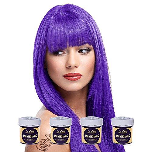 La Riche Directions Haarfarbe 4er Pack (Violett)
