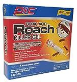 PIC GEL Boric Acid Roach Control Gel, 1-Ounce Syringe, 2-Pack