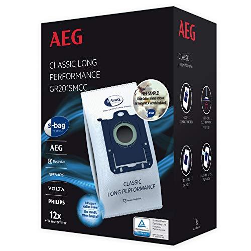 AEG GR201SMCC, s-Bag Classic Long Performance Megapack, Passend u.a UltraSilencer, ClassicSilence, SilentPerformer, Equipt, PowerForce, VX6, VX7, VX8, schwarz