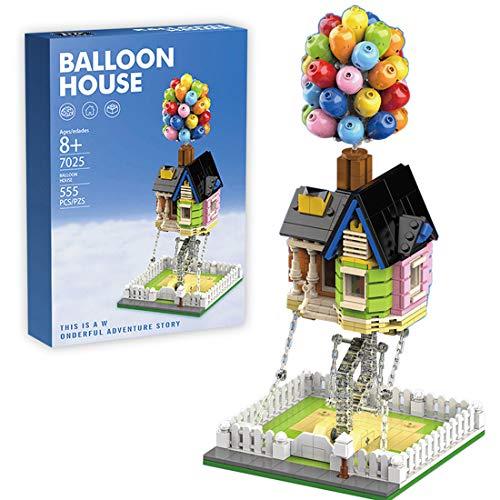 Gedar Casa de Globos, Creator construcción de Casas de Globos, Creator Expert House, Maravillosos Regalos para niños y niñas, 555 Piezas Compatible con Lego