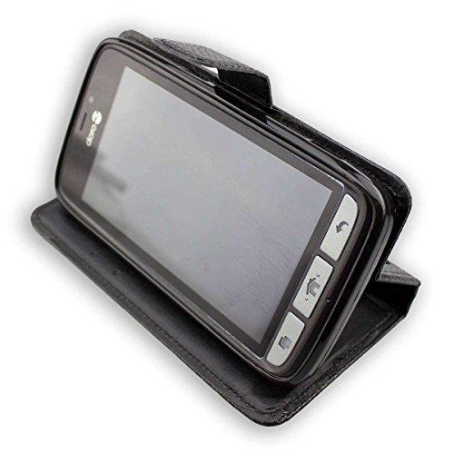 caseroxx Handy Hülle Tasche kompatibel mit Doro 8030/8031 Bookstyle-Hülle Wallet Hülle in schwarz