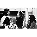 Mary Tyler Moore 8 inch by 10 inch PHOTOGRAPH Mary Tyler Moore The Dick Van Dyke Show Ordinary People B&W Pic from Waist Up During Scene with Chloris Leachman & Valarie Harper kn
