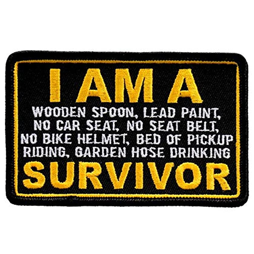 I AM A SURVIVOR - Iron On PATCH, Officially Licensed Original Artwork, 4