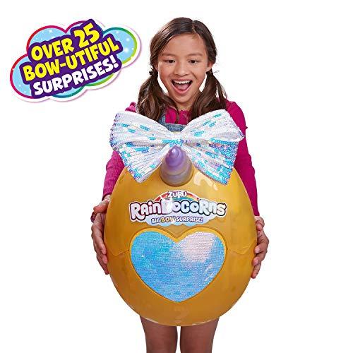 Rainbocorns Riesen-Überraschungs-Ei mit großer Schleife, inkl. 25 Überraschungen Sortiert