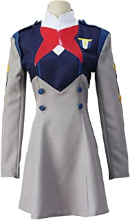 qyy Anime Characters Grey Dress Anime Cosplay Halloween Party Costume Complete Set, Suit-M