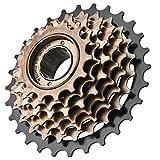 Vbest life Piñón de 7 velocidades para Bicicleta, Repuesto de piñón de Cassette de 7 velocidades para Bicicleta de Acero Inoxidable para reparación y actualización de Bicicletas